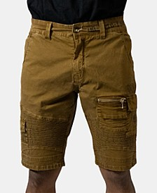 Men's Khaki Cargo Shorts