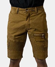 Heritage America Men's Khaki Cargo Shorts
