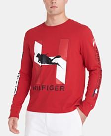 Tommy Hilfiger Men's Barrier Long Sleeve T-Shirt
