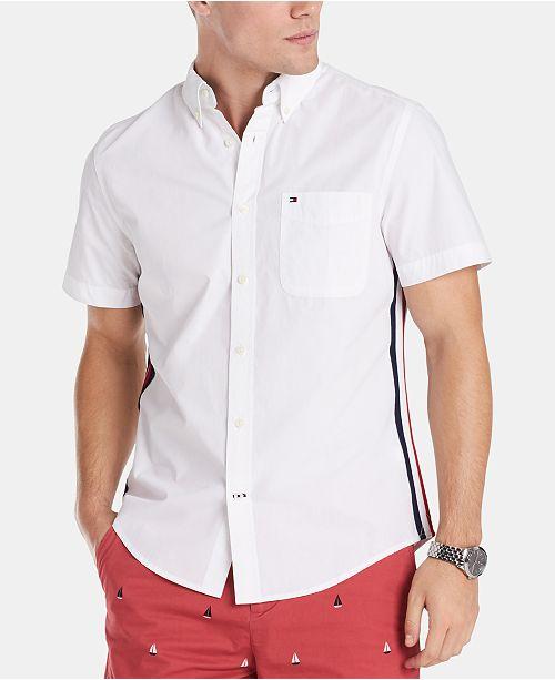 Tommy Hilfiger Men's Aldridge Stretch Oxford Shirt