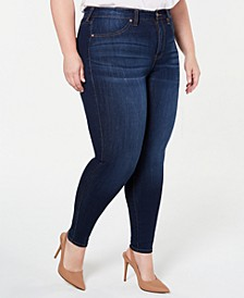 Trendy Plus Size Curvy High Rise Jean