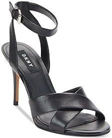 DKNY Ivy Ankle-Strap Dress Sandals, Created For Macy's