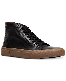 Frye Men's Ludlow Cap-Toe High Top Sneakers