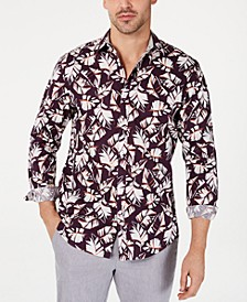 INC Men's Autumn Leaves Shirt, Created for Macy's