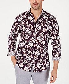 INC Men's Autumn Leaves Shirt, Created for Macy's