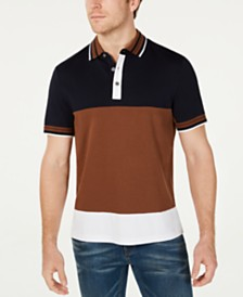 Michael Kors Men's Colorblocked Polo Shirt