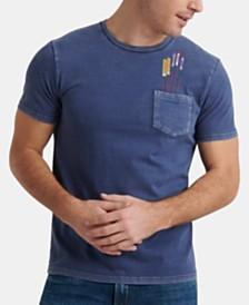 Lucky Brand Men's Fireworks Pocket T-Shirt