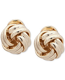 Lauren Ralph Lauren Love Knot Clip-On Earrings