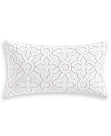 "Classic White Shop 14"" x 26"" Decorative Pillow, Created for Macy's"