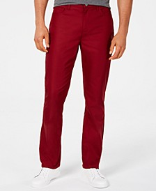 Men's Twill Pants, Created for Macy's
