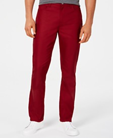Alfani Men's Twill Pants, Created for Macy's