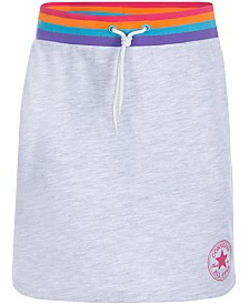 Converse Big Girls Rainbow Knit Skirt