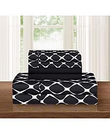 Bloomingdale 4-Piece Wrinkle Free Sheet Set Twin/Twin XL