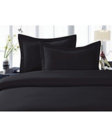Luxurious Silky - Soft Wrinkle Free 3-Piece Duvet Cover Set, Full/Queen