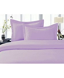 1500 Thread Count Egyptian Quality Luxurious Silky - Soft Wrinkle Free 3-Piece Duvet Cover Set, Full/Queen