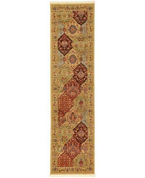 "Bridgeport Home Orwyn Orw1 Tan 2' 7"" x 10' Runner Area Rug"