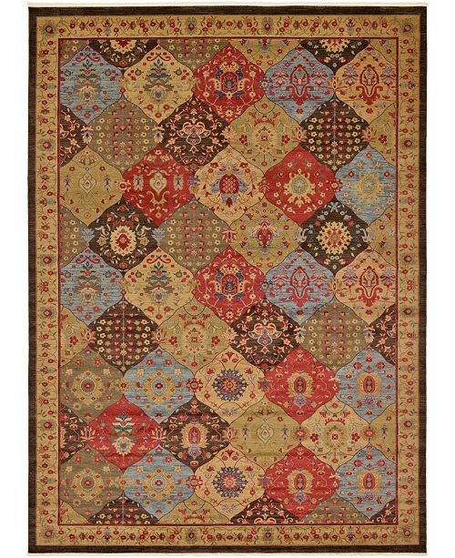 Bridgeport Home Orwyn Orw1 Multi 13' x 18' Area Rug