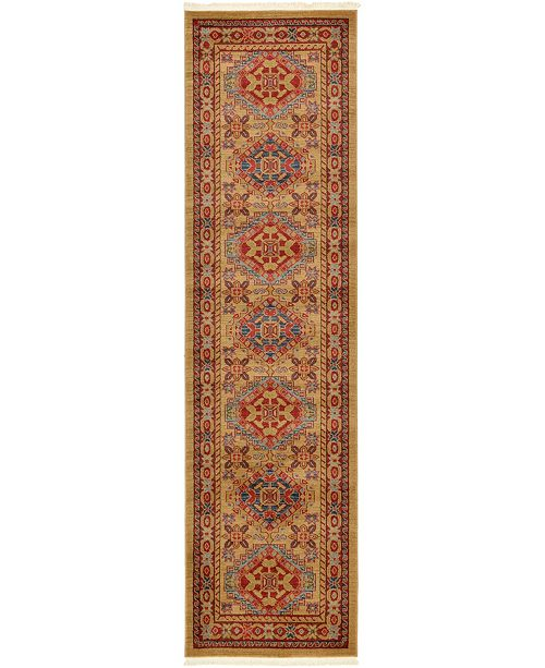"Bridgeport Home Harik Har3 Beige 2' 7"" x 10' Runner Area Rug"
