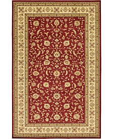 "Bridgeport Home Passage Psg4 Red 10' 6"" x 16' 5"" Area Rug"