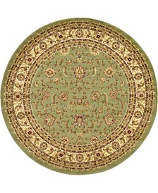 Passage Psg4 Green 6' x 6' Round Area Rug