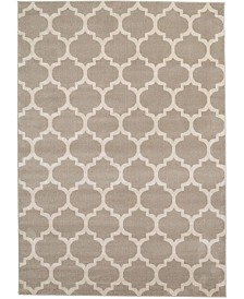 Bridgeport Home Arbor Arb1 Tan 7' x 10' Area Rug