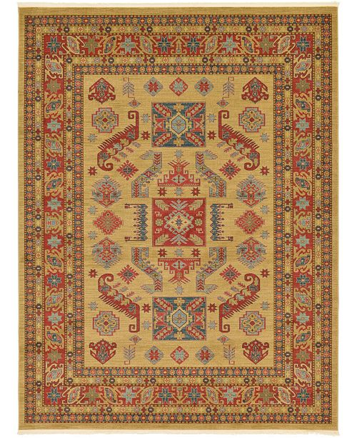 Bridgeport Home Harik Har1 Beige 9' x 12' Area Rug