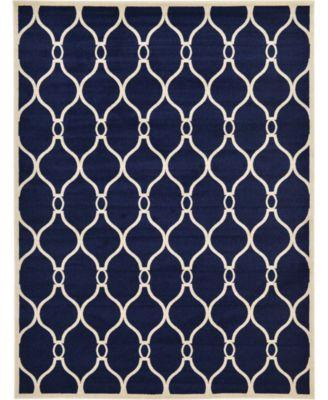 Arbor Arb6 Navy Blue 9' x 12' Area Rug