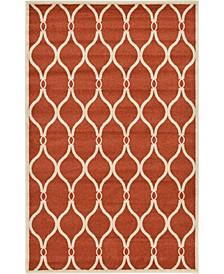 Arbor Arb6 Terracotta 5' x 8' Area Rug