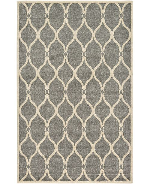 Bridgeport Home Arbor Arb6 Gray 5' x 8' Area Rug