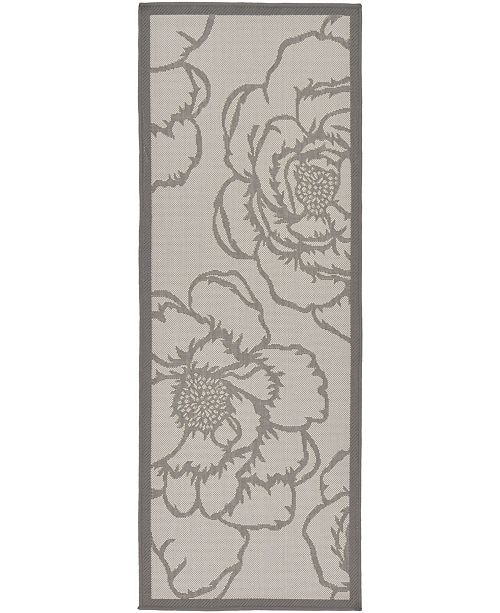"Bridgeport Home Pashio Pas4 Gray 2' 2"" x 6' Runner Area Rug"