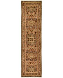 "Bridgeport Home Wilder Wld1 Brown 2' 7"" x 10' Runner Area Rug"