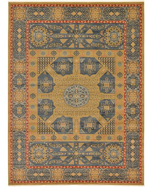 Bridgeport Home Wilder Wld3 Navy Blue 13' x 18' Area Rug