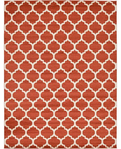 Bridgeport Home Arbor Arb1 Light Terracotta 10' x 13' Area Rug