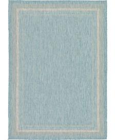 """Pashio Pas5 Aquamarine 8' x 11' 4"""" Area Rug"""