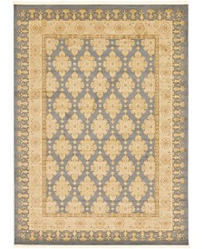 Bridgeport Home Orwyn Orw5 Blue 8' x 11' Area Rug