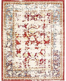 Bridgeport Home Malin Mal1 Red 9' x 12' Area Rug