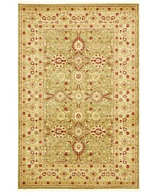 Bridgeport Home Orwyn Orw1 Light Green 6' x 9' Area Rug