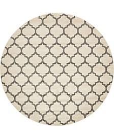 Arbor Arb1 Beige/Gray 10' x 10' Round Area Rug