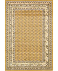 Bridgeport Home Axbridge Axb1 Yellow 6' x 9' Area Rug