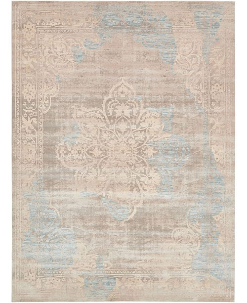 Bridgeport Home Caan Can4 Taupe 10' x 13' Area Rug