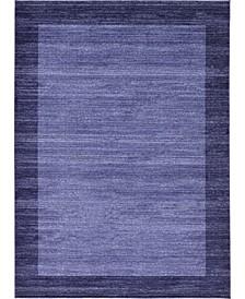 Lyon Lyo4 Navy Blue 8' x 11' Area Rug