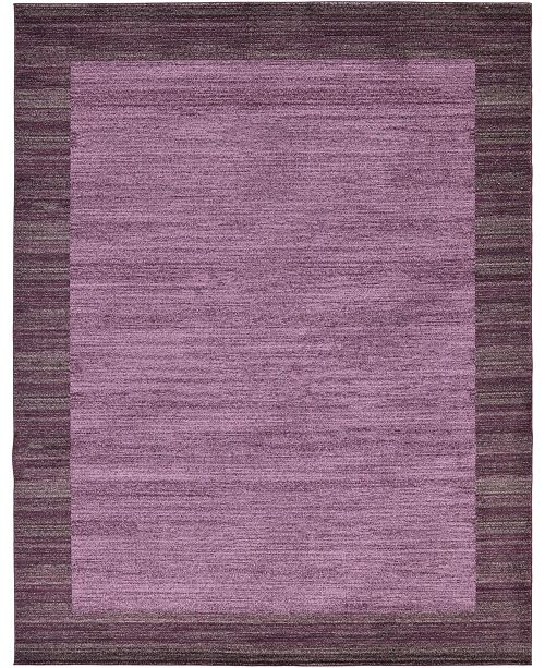 Bridgeport Home Lyon Lyo4 Violet 10' x 13' Area Rug