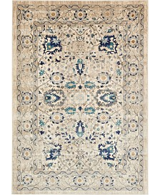 Bridgeport Home Masha Mas3 Beige 7' x 10' Area Rug