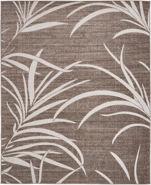 Bridgeport Home Pashio Pas4 Gray 8' x 10' Area Rug
