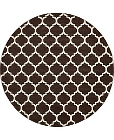 Arbor Arb1 Brown 10' x 10' Round Area Rug