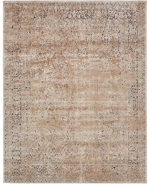 Bridgeport Home Odette Ode3 Beige 8' x 10' Area Rug
