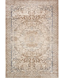 "Bridgeport Home Odette Ode7 Beige 10' x 14' 5"" Area Rug"