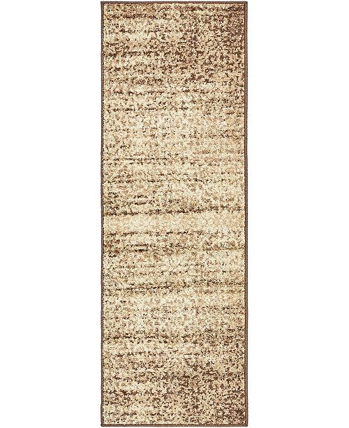 Bridgeport Home Jasia Jas08 Beige 2' x 6' Runner Area Rug