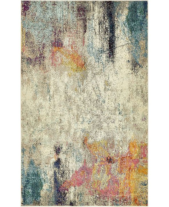 Bridgeport Home Crisanta Crs8 Beige 5' x 8' Area Rug