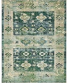 Newhedge Nhg3 Green 8' x 10' Area Rug